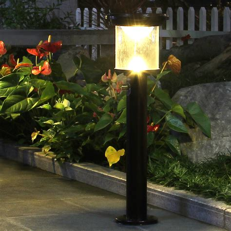 lawn lights solar outdoor solar power yard lawn lights 12v led dimmable