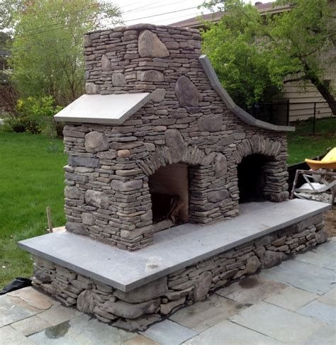 Decorative Screens For Living Rooms by Bluestone And Maple Creek Flat Stone Outdoor Fireplace In