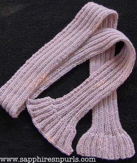 knitting 2x2 rib scarf in 2x2 rib by sapphiresnpurls knitting pattern