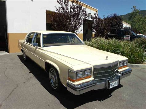 1986 Cadillac Fleetwood Brougham For Sale by 1986 Cadillac Fleetwood Brougham For Sale Classiccars