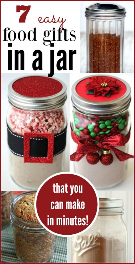 food gifts ideas 7 food gifts in a jar coupon closet
