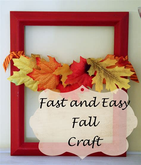 fast easy crafts southern scraps fast and easy fall craft