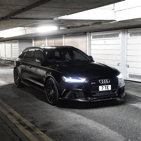 Audi Rs6 Black by All Black Audi Rs6 Follow Our Partners A1exoticsmag