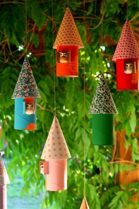 paper craft ornaments crafts for 15 toilet paper roll ideas
