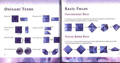 origami club origami origami club basic origami folds origami folds