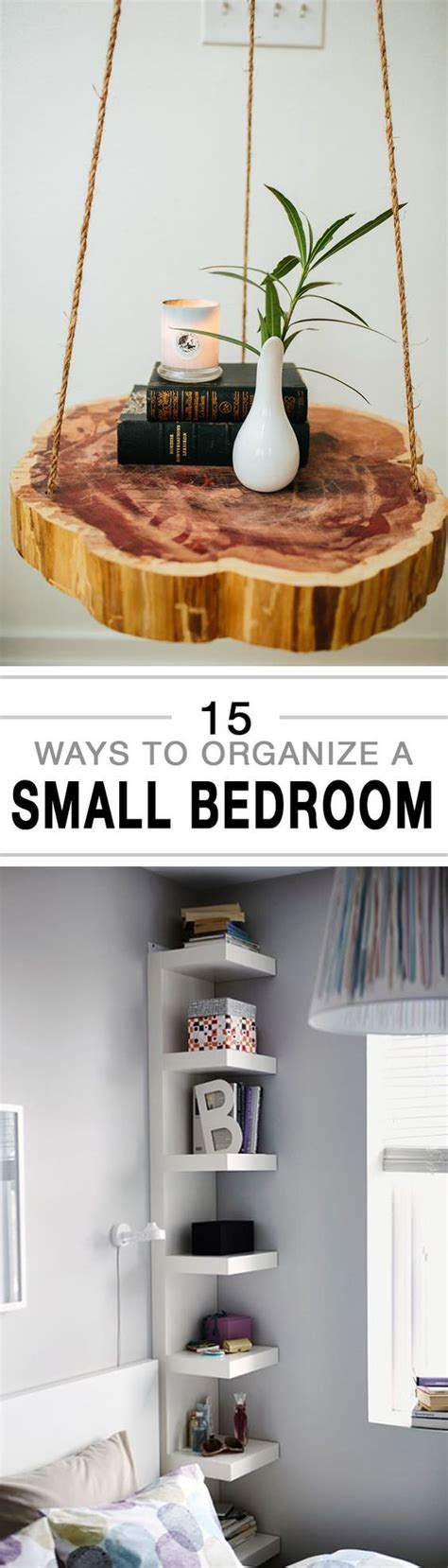 organize small bedroom 15 ways to organize a small bedroom house
