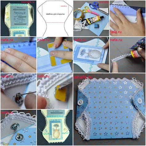 how to make shaped cards diy shaped baby card