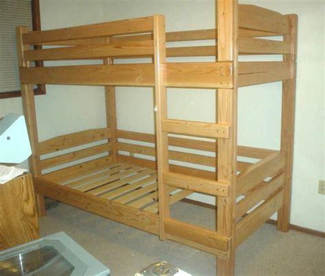 wood loft bunk bed bunk bed