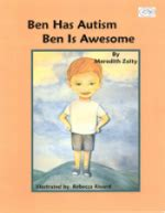 picture books for children with autism children s book ben has autism ben is awesome review