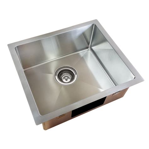 bunnings kitchen sinks blanco bowl everhard squareline plus single bowl kitchen sink