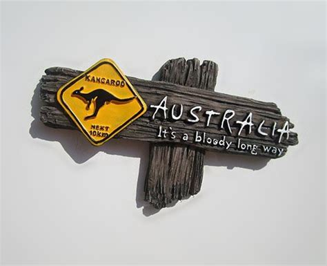Home Decor Stores Perth australian kangaroo signpost sydney melbourne perth fridge
