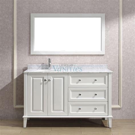 54 bathroom vanity 54 inch modern single bathroom vanity with choice of