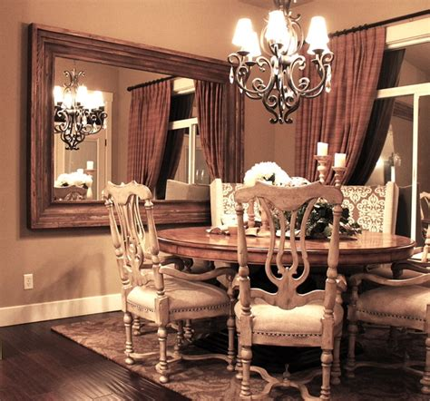 wall mirrors for dining room dining room wall mounted mirror traditional dining