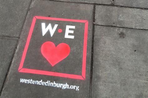 chalk paint edinburgh chalk graffiti caign for spraffl at the edinburgh