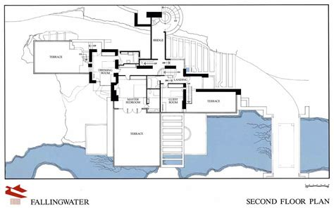 falling water floor plans frank lloyd wright fallingwater article khan academy