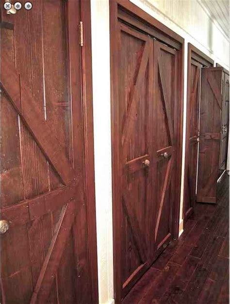 reclaimed wood interior doors custom reclaimed wood and mahogany closet doors eclectic