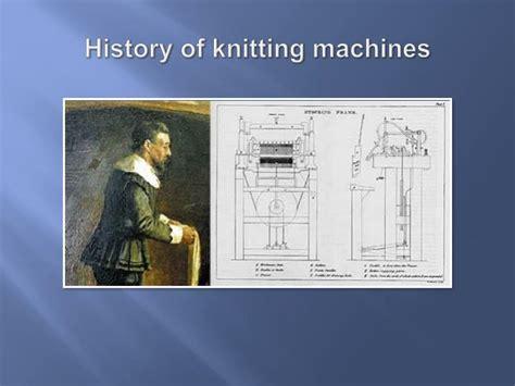 history of knitting ppt history of knitting hosiery powerpoint presentation