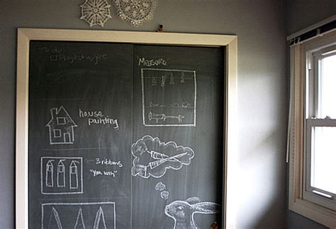 painting chalkboard door chalkboard paint ideas when writing on the walls becomes