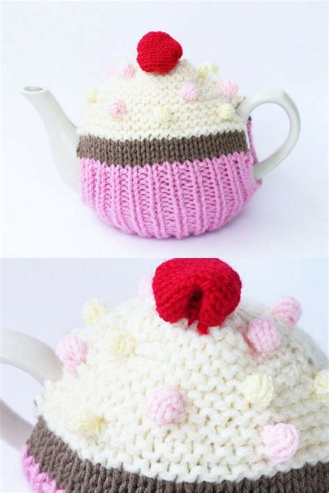 cupcake tea cosy knitting pattern free 220 best images about free knitting patterns on