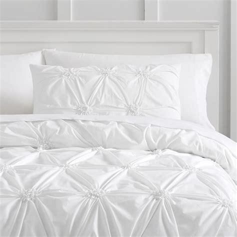 rosette comforter set organic ruched rosette duvet bedding set with duvet cover