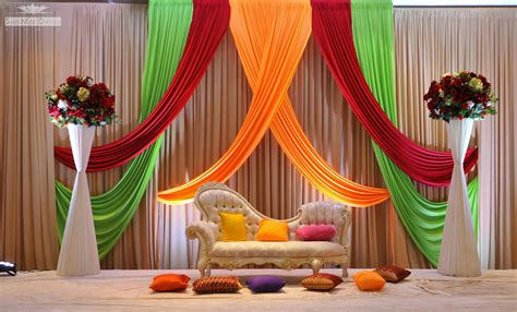 photo of decorations south asian wedding decor