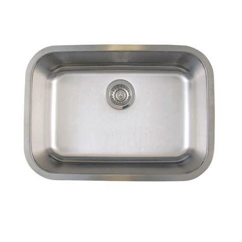 stainless steel undermount kitchen sinks single bowl blanco stellar undermount stainless steel 25 in medium