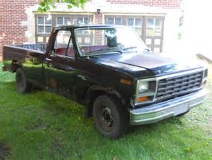 1981 ford truck f100 2wd custom 6 cylinder hd