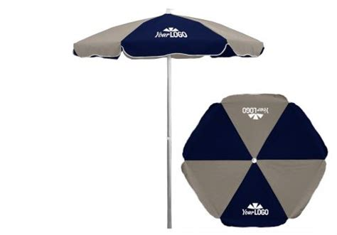 logo patio umbrellas 6 5 commercial logo patio umbrella aluminum pole