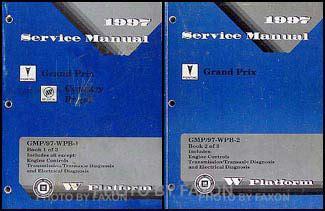 1997 pontiac grand prix repair shop manual original 2 volume set 1997 pontiac grand prix repair shop manual original 2 volume set