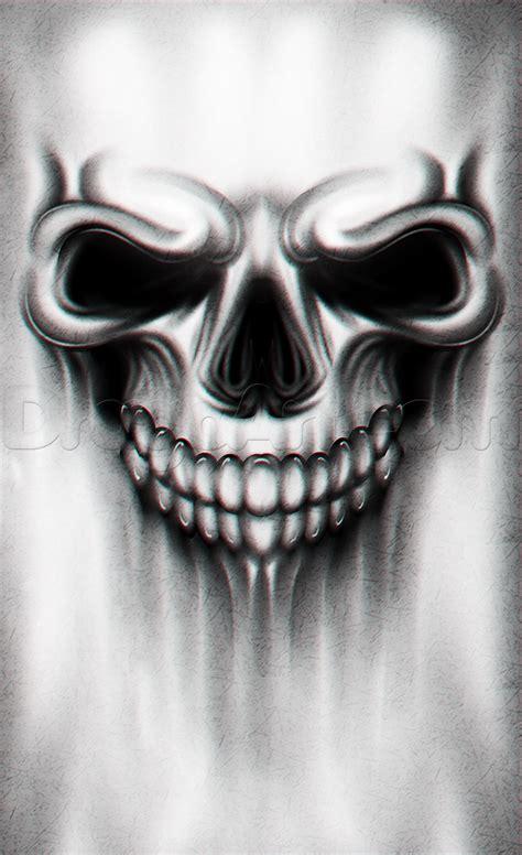 tutorial skull a skull drawing tutorial step by step tattoos