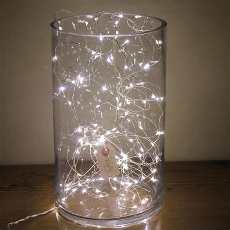 lights in a vase wire lights 5 10 15 or 20 meter greige