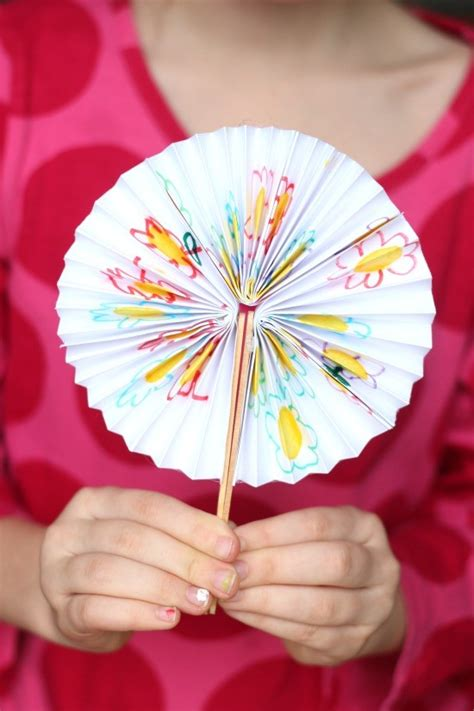 fan craft diy new year fans
