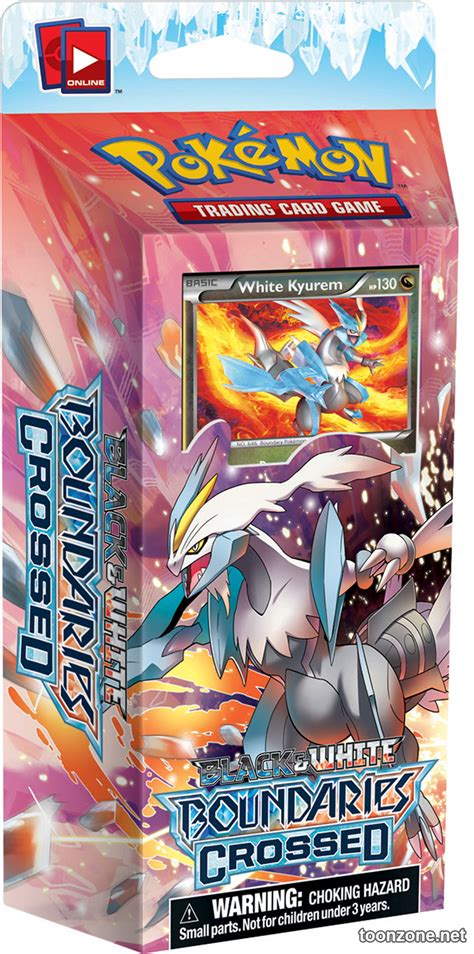 White Kyurem Theme Deck by Pok 233 Mon Tcg Black White Boundaries Crossed Look