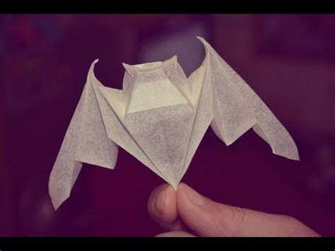 michael lafosse origami 3 luck bat by michael lafosse yakomoga origami tutorial