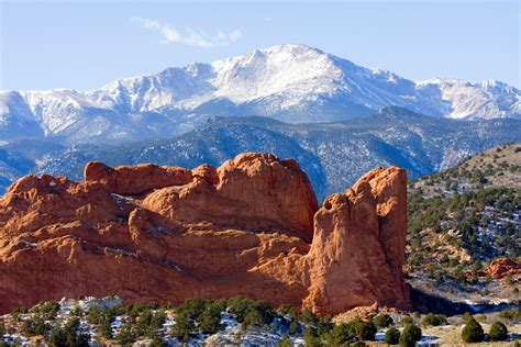 Garden Of The Gods To Pikes Peak Garden Of The Gods Outthere Colorado