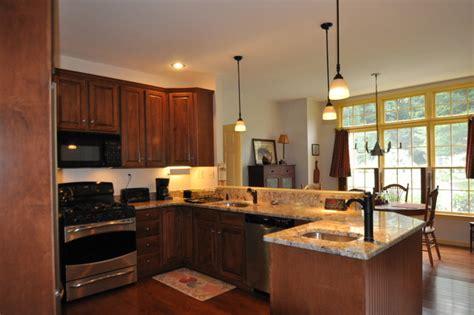 kitchen design with peninsula peninsula remodel traditional kitchen boston by