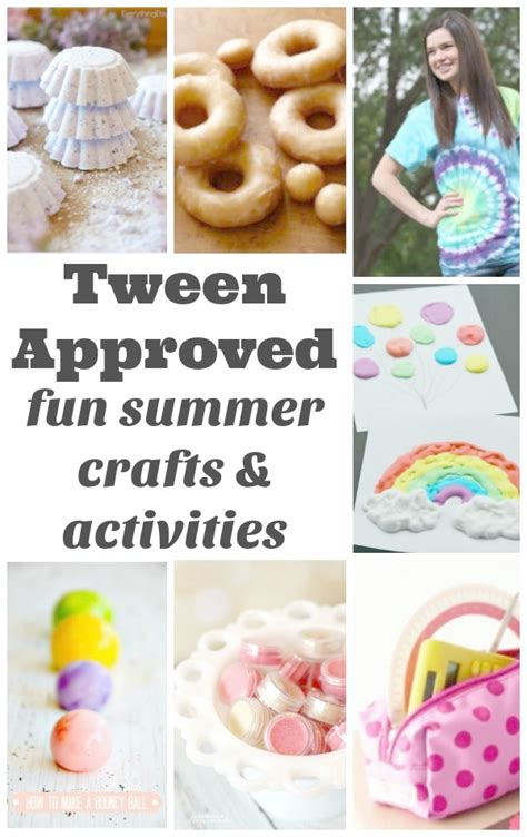 craft projects for tweens summer crafts and activities for tweens