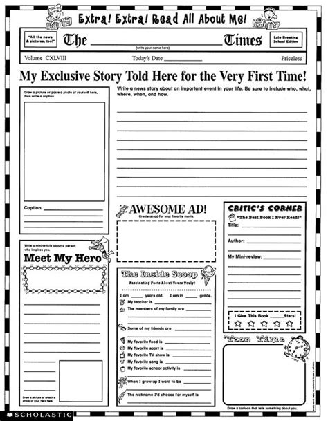 instant personal poster sets read all about me 30 big write and read learning posters ready for to personalize and display with pride instant personal poster sets read all about me