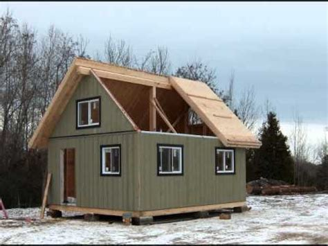 10 X 20 Cabin Floor Plan the collingwood cabin 480 sq ft youtube