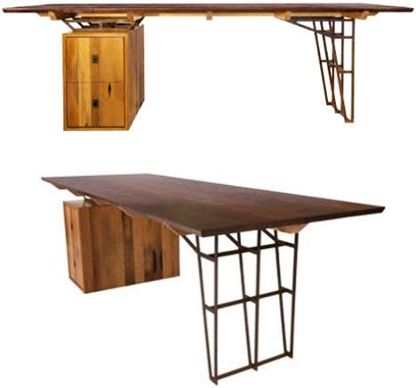 woodwork furniture designs vintage lumber recycled into new wood furniture designs