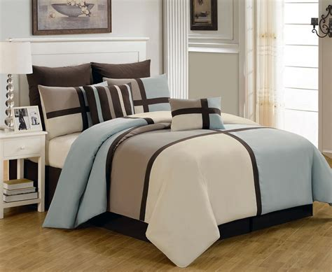 king comforter sets blue 8 king picasso blue comforter set