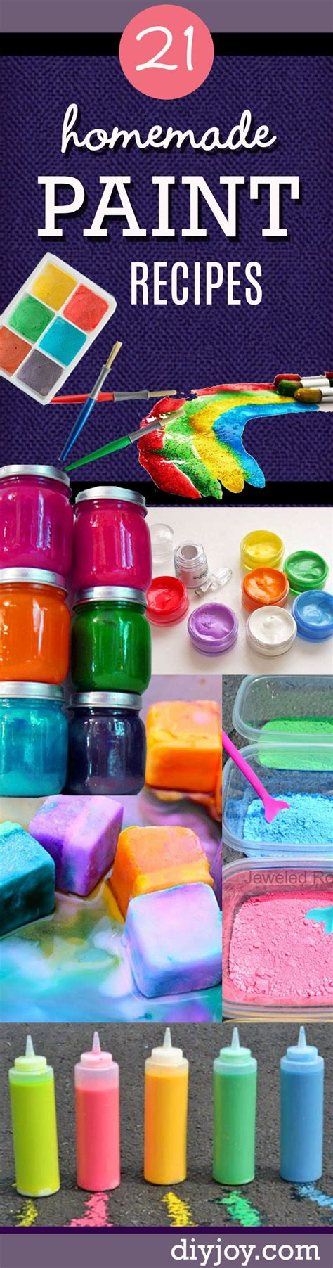 cool crafts for to make at home 21 easy diy paint recipes your will go for