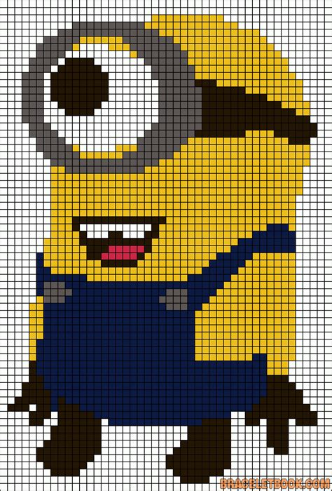 minion perler bead patterns despicable me minion perler bead pattern million minions