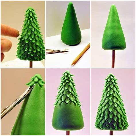 how to make decorations for the tree how to make clay tree step by step diy tutorial