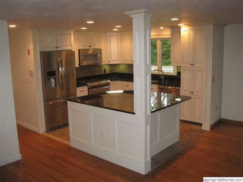 kitchen island with columns home design house design builder contractor remodel addition house plans new home