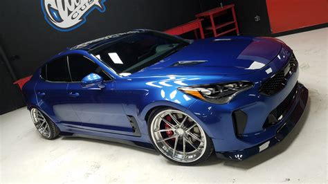 West Kia by This Is The West Coast Customs Modified Kia Stinger Top Gear