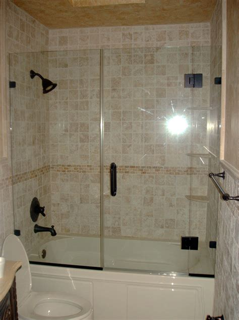 bathtubs with glass shower doors best remodel for tub shower enclosure glass tub