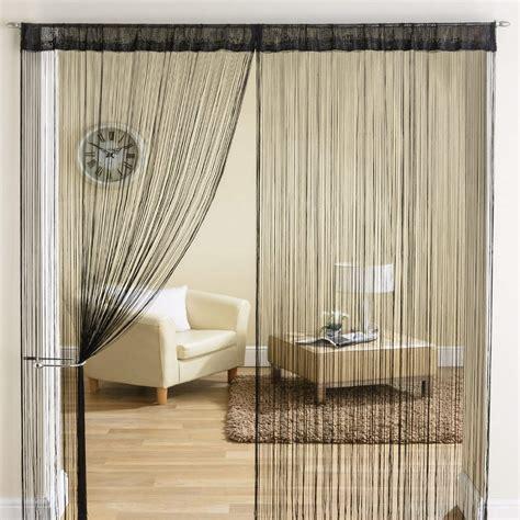 string for doorways classic string tassle fringe panel divider window door