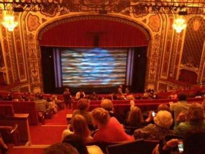 Cadillac Theater Seating by Seat View Reviews From Cadillac Palace Theater