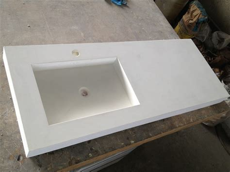 Concrete Vanity Top by Saeed Design Recent Creations